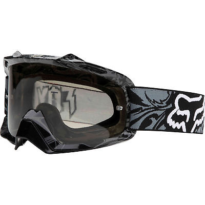 Fox Mx Airspc Encore Charcoal Motocross Bmx Mtb Dirt Bike Adult Goggles