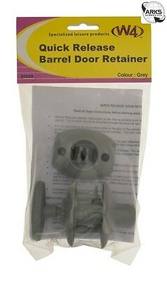 W4 Barrel Door Retainer - Quick Release - Grey - 00009