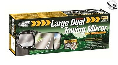 MAYPOLE Towing Extension Mirror - Dual Glass - 8324