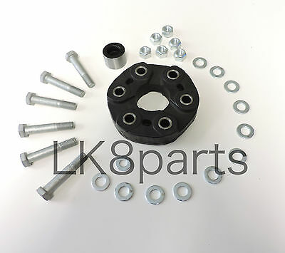 Land Rover Discovery 2 99-04 Rubber Rear Drive Shaft Driveshaft Coupling + Bolts