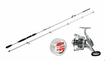 Lineaeffe Saltwater spinning rod & Drake 30FD Reel+ Line combo Opt  4 Rod sizes.