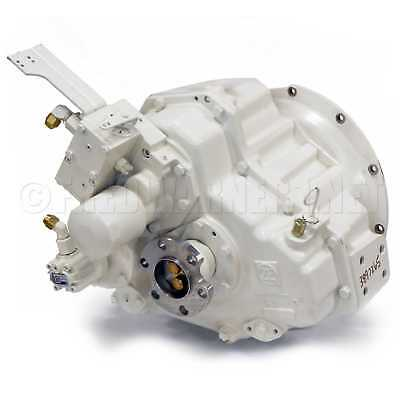 ZF IRM301A.2 2.55:1 Marine Boat Transmission White Down-Angle Gearbox 3209001019