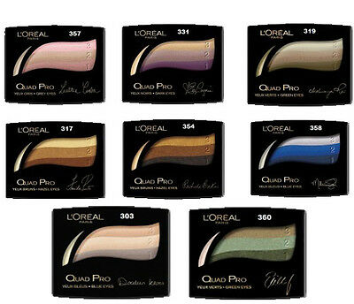 L'Oreal Quad Pro Eye Shadow ** Choose Your Shade **