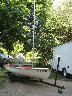 1971 Advace Flying Junior Sailboat 13ft Excellent Condition