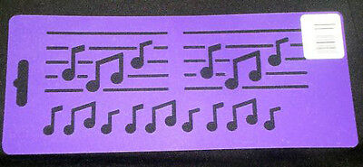 Music Stencil Musical Note Notes Stencils Template Templates Craft Border New