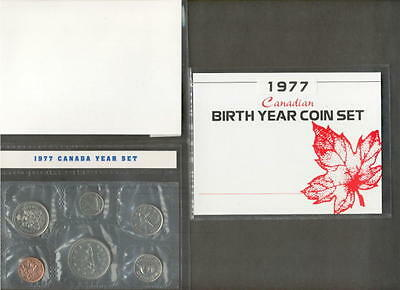 1977 Canada Proof Like Birth Year Coin Gift Set