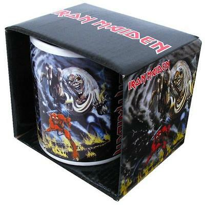Iron Maiden - Number Of The Beast Ceramic Coffee / Tea Mug New & Official In Box