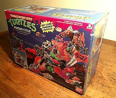 Teenage Mutant Ninja Turtles Psycho Cycle No. 5691 BANDAI 1990 -NUEVO-