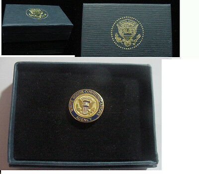 Presidential white house communications agency  Lapel Pin . New