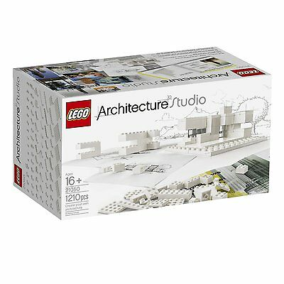 BRAND NEW! LEGO Architecture Studio 21050 Playset with 1,210 White Pieces