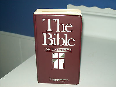 VINTAGE THE BIBLE ON CASSETTES/BOOK FORM