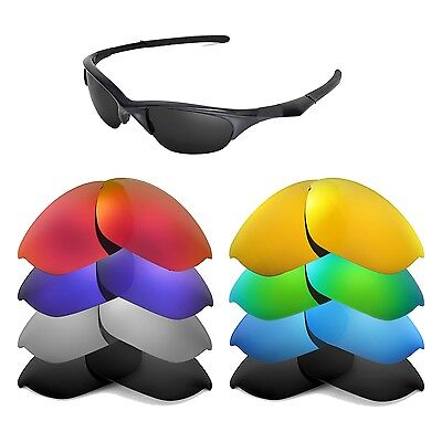 Walleva Replacement Lenses for Oakley Half Jacket Sunglasses - Multiple Options