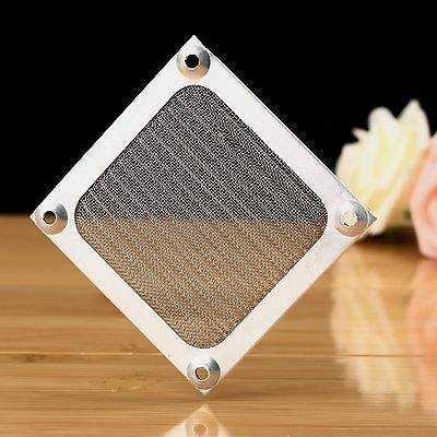 Durable Aluminum 80mm Dustproof Mesh PC Computer Cooling Fan Filter Guard Cover