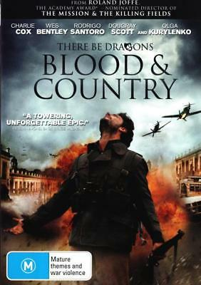 There Be Dragons: Blood and Country  - DVD - NEW Region 4