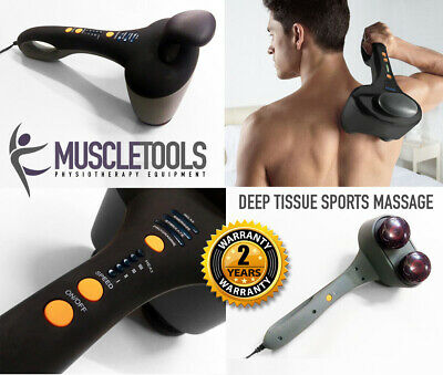 Electric Vibrating Muscle Neck Back Hand Held Percussion Massager Machine