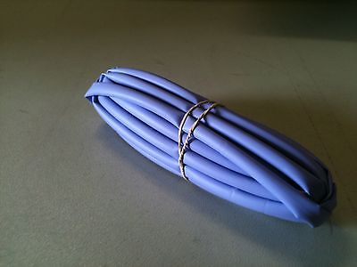 "1/4"" ID / 6.5mm ThermOsleeve VIOLET Polyolefin 2:1 Heat Shrink tubing-50'section"
