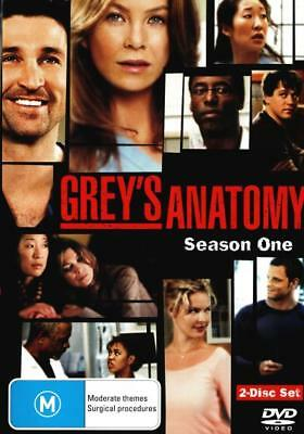 Grey's Anatomy: Season 1  - DVD - NEW Region 4