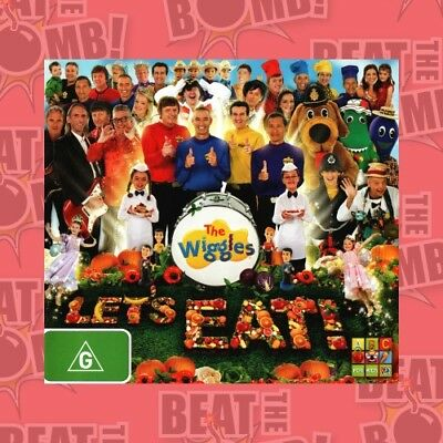 The Wiggles: Let's Eat  - DVD - NEW Region 4
