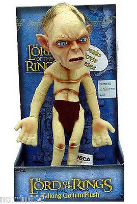 LORD OF THE RINGS GOLLUM peluche sonido 28cm Neca