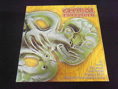 GLOBAL EXPLORER v/a LP Youth Asian Dub Foundation Bill Laswell / Zip Dog '97
