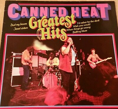 Canned heat greatest hits vinyl lp Electric Blues