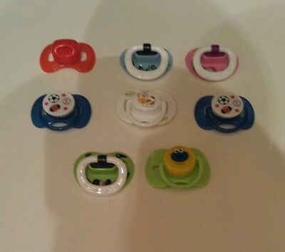 Reborn magnetic pacifier lot of 8