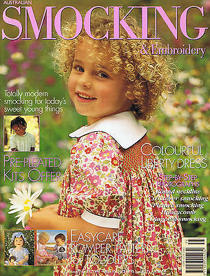 Australian Smocking & Embroidery Magazine issue 35 RARE OUT OF PRINT