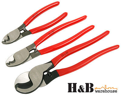 """6"""" 8"""" 10"""" Electrical Cable Cutter Wire cutting  Pliers Electrician Tool T0064"""