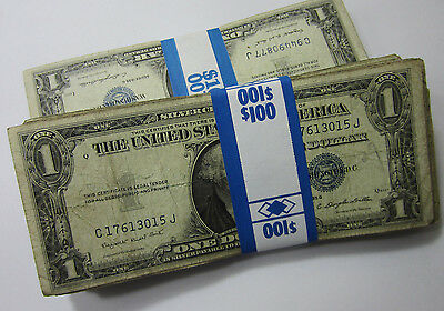 (1) 1935/1957 One Dollar Silver Certificate $1 // Circulated // (N641)