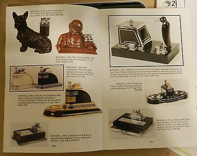 The Handbook of Vintage Cigarette Lighters Dates and Prices American