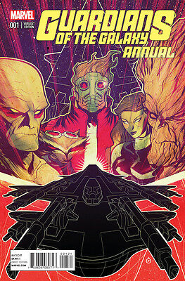 Guardians Of The Galaxy Annual (2014) #1 Vf/nm Variant Cover Marvel Now!