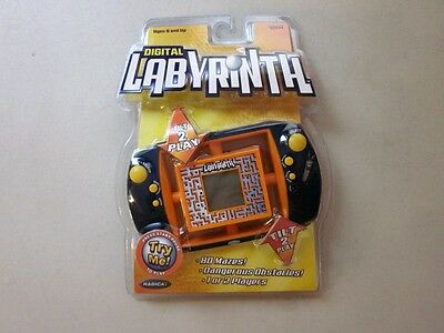 Radica DIGITAL LABYRINTH 80 Maze Obstacle Handheld Game NEW Sealed  76014