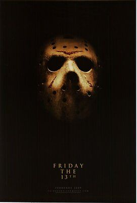 FrIDAY THE 13TH  Movie poster Friday the 13