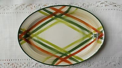 "Vernonware Tam O' Shanter 12 3/4"" Platter Excellent Condition"