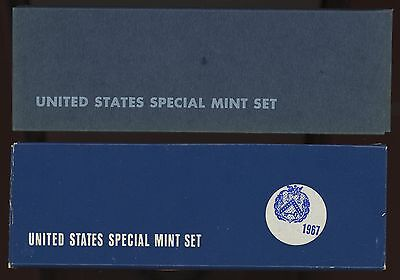 Two  US  Special Mint Sets 1966 + 1967 With Free Shipping !