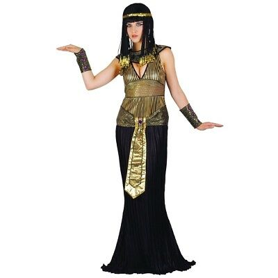 Adult QUEEN CLEOPATRA Fancy Dress Ladies Egyptian Ancient Costume UK Sizes 6-24