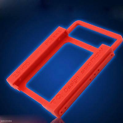"""2.5""""  To 3.5"""" HDD SDD PC Laptop Hard Disk Mounting Dock Holder Adapter Bracket"""