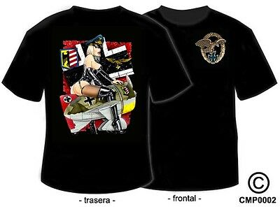 Camisetas Militares: Pin Up's - Ready Luftwaffe