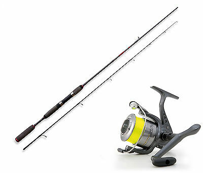 Lineaeffe Freshwater spinning rod & Shizuka SK3 040 Front Drag Reel Opt 4 sizes.