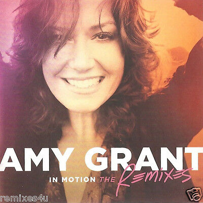 Amy Grant - In Motion (The Remixes) full promo CD album w/ Baby Baby & 10 tracks