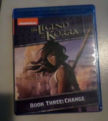 Legend Of Korra: Book Three - Change Blu-ray; LIKE NEW! LOOK!