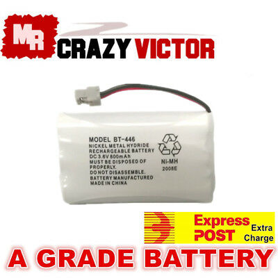 800mAh Replacement Battery For Uniden BT-446 BT-909 BT-750 3.6V Cordless Phone