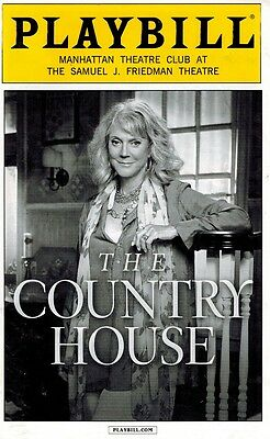 The Country House Broadway Playill - Blythe Danner