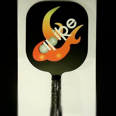 Pickleball Paddle - Low Noise! -Black