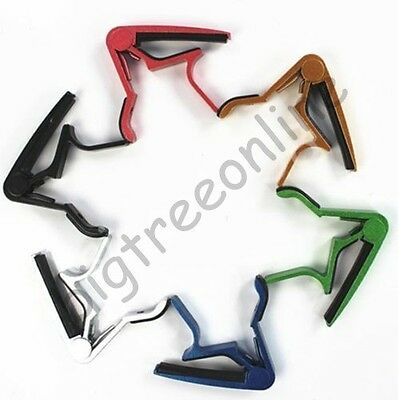 More Color Quick Release String Guitar Capo Trigger For Electric Acoustic Guitar