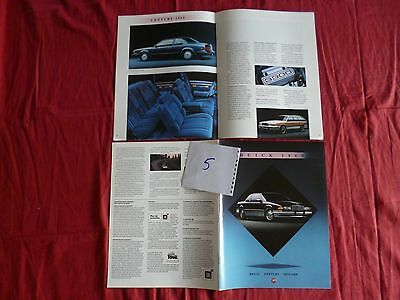 5/ BUICK catalogue 1989  en français  REGAL Century et Skylark