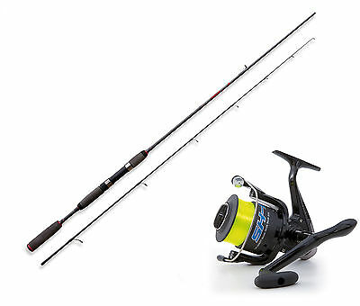 Lineaeffe Freshwater spinning rod & SK1 040 FD Reel With Line Opt 4 sizes.
