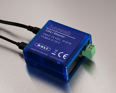 USB DALI Master with integrated bus power supply, EU power supply