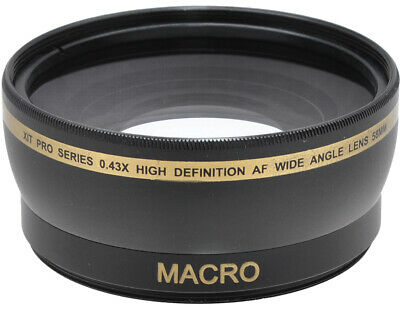 58MM Wide Angle Macro Lens for the Canon SL1 T5 T3 T5i T4i T3i 60D 70D 7D 6D 5D!
