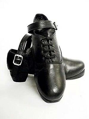 Irish Hard Dancing Shoes Upper Cowhide Leather Hand Made